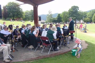 KCB at The Glebe, Bowness 21 July 2013